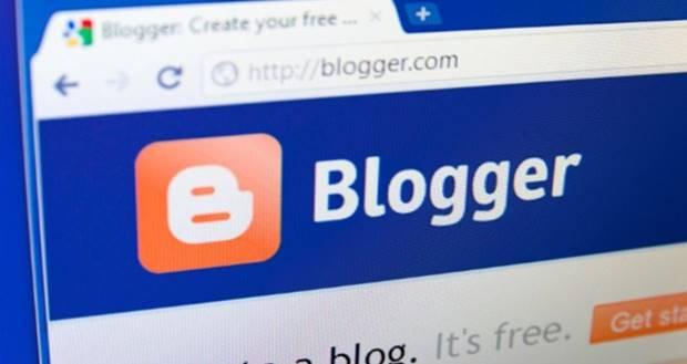 criar blog no blogger
