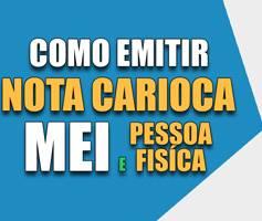 Emitir Nota Carioca MEI e Pessoa Física