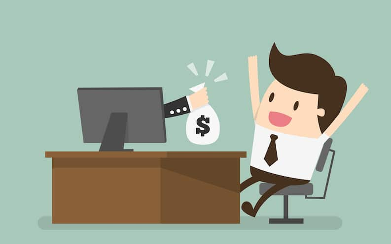 ganhar renda extra em casa pela internet
