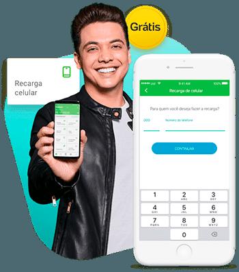 recarga de celular pagbank
